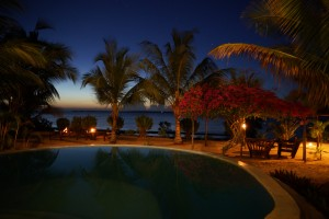Zanzibar Villa Lisa Pool Evening