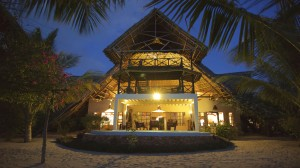 Zanzibar Villa Lisa Beach Front Evening