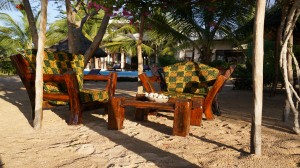 Zanzibar Villa Tatu Garden Lounge