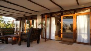 Zanzibar Villa Tatu Upstairs Patio