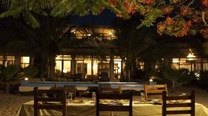 Zanzibar Villa Tatu Dinner Setup