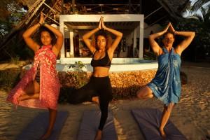Milele Villas Zanzibar Yoga Class