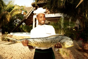 Milele Villas Zanzibar Catch of the Day